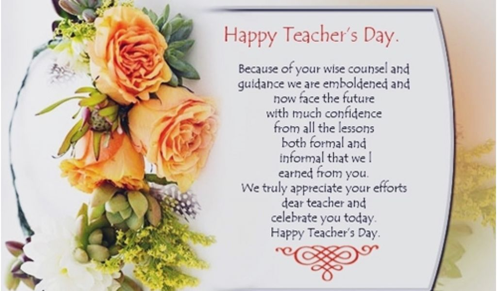 what to write in a birthday card for your teacher happy