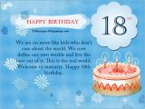 What to Write In An 18 Birthday Card 18th Birthday Wishes Messages and Greetings
