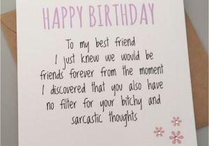 What To Write In Best Friends Birthday Card Funny Friend Bestie Humour Fun