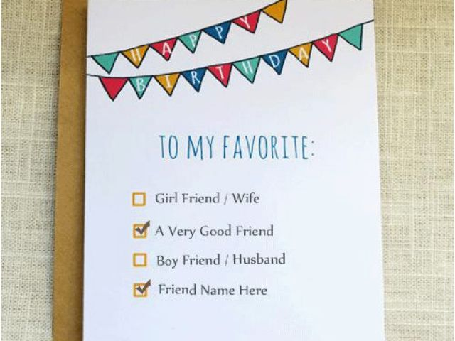 What To Write In Best Friends Birthday Card Name On