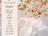 What to Write In Sister S Birthday Card Facebook Happy Birthday Sister Sayings for Free