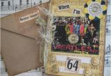 When I M 64 Birthday Card Beatles Birthday Card when I 39 M 64 Sgt Pepper 39 S