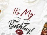 Where Can I Buy A Birthday Girl Shirt Birthday Girl Shirt Birthday T Shirt Eyelash Lips