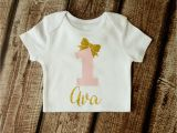 Where Can I Buy A Birthday Girl Shirt First Birthday Outfit Girl 1st Birthday by Pinkblossomdesignco