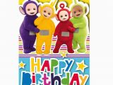 Where Do they Sell Giant Birthday Cards Happy Birthday Teletubbies Birthday Card 243857