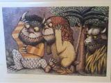 Where the Wild Things are Birthday Card where the Wild Things are Maurice Sendak Greeting Card