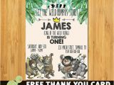 Where the Wild Things are Birthday Invitations where the Wild Things are Birthday Invitation where the Wild