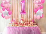 Where to Buy Birthday Decorations Aliexpress Com Buy Fengrise 25pcs 1st Birthday Balloons