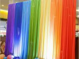 Where to Buy Birthday Decorations Rainbow Color Fabric Backdrop Wedding Party Photobooth