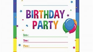 Where to Buy Birthday Invitation Cards Birthday Party Invitations Amazon Com