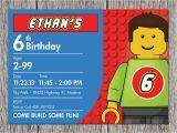 Where to Buy Lego Birthday Invitations Free Printable Lego Birthday Invitations Drevio