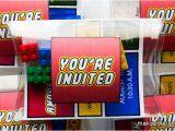 Where to Buy Lego Birthday Invitations Lego Invitation Makoodle