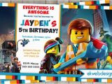 Where to Buy Lego Birthday Invitations the Lego Movie Birthday Invitation