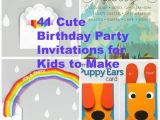 Where to Make Birthday Invitations 41 Printable Birthday Party Cards Invitations for Kids