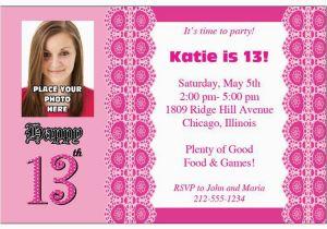 Where to Make Birthday Invitations Birthday Invites How to Make 13th Birthday Party