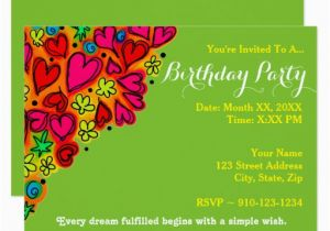 Where to Make Birthday Invitations Create Your Own Birthday Party Invitation Zazzle