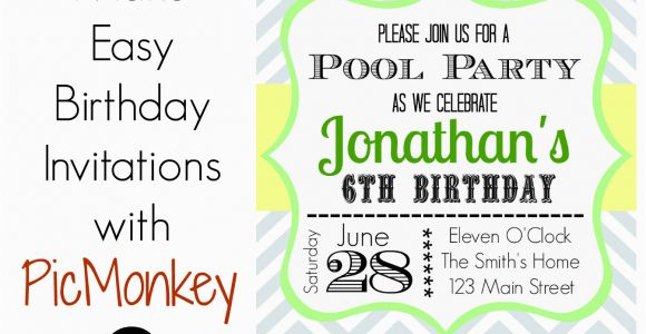 Where to Make Birthday Invitations How to Make Birthday Invitations In Easy Way Birthday