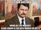 Whiskey Birthday Meme 15 top Birthday Memes for Women Jokes Images Quotesbae