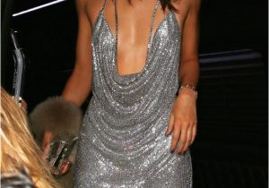 White 21st Birthday Dresses Kendall Jenner Model Dresses as Paris Hilton for 21st