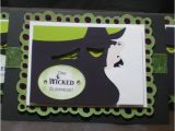 Wicked Birthday Card Land Of Encraftment One Wicked Surprise