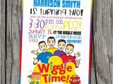 Wiggles Birthday Invitations Printable 17 Best Images About Wiggles Party On Pinterest Cakes