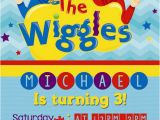 Wiggles Birthday Invitations Printable 25 Best Ideas About Wiggles Birthday On Pinterest