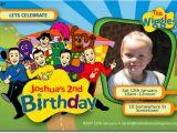 Wiggles Birthday Invitations Printable Se421 themed Birthday Wiggles Girls themed Birthday