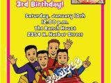 Wiggles Birthday Invitations Printable Wiggles Birthday Invitation
