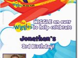 Wiggles Birthday Invitations Printable Wiggles Birthday Party Invitations Candy Wrappers Thank