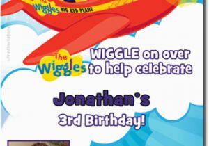 Wiggles Birthday Invitations Printable Custom Wiggles Printable