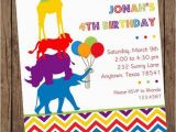 Wild Animal Birthday Party Invitations Wild Animals Birthday Invitations 1 00 Each by Pmcinvitations