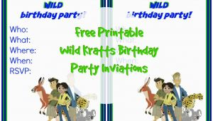 Wild Kratts Birthday Party Invitations Dr Seuss Birthday Party Suzy Homeschooler