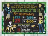 Wild Kratts Birthday Party Invitations Wild Kratts Invitation Wild Kratts Birthday Wild Kratts