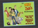 Wild Kratts Birthday Party Invitations Wild Kratts Party Invitations Party Invitations Ideas