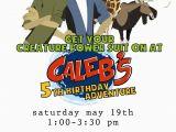 Wild Kratts Birthday Party Invitations Yellow Mums Wild Kratts Birthday Printables