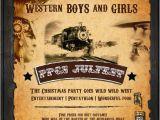Wild West Birthday Invitations Fun 39 N 39 Frolic Summer Party theme Wild West