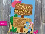 Wild West Birthday Invitations Sheriff Callie Wild West Birthday Party Invitation Printable