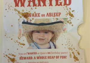 Wild West Birthday Invitations Wild West Birthday Party Gaybymamawebsite