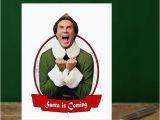 Will Ferrell Birthday Card Elf Card Elf Christmas Card Will Ferrell by