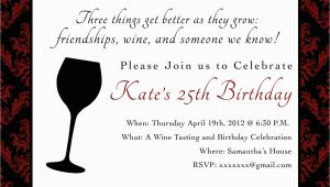 Wine themed Birthday Invitations Printable Birthday Party Invitation 5 X 7 Wine themed