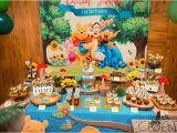 Winnie the Pooh 1st Birthday Decorations Caden S Winnie the Pooh themed 1st Birthday Party at 10 Scotts