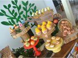 Winnie the Pooh 1st Birthday Decorations Kara 39 S Party Ideas Rustic Winnie the Pooh 1st Birthday
