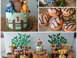Winnie the Pooh 1st Birthday Decorations Kara 39 S Party Ideas Rustic Winnie the Pooh First Birthday