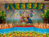 Winnie the Pooh 1st Birthday Decorations Winnie the Pooh Birthday Party Ideas Photo 11 Of 74