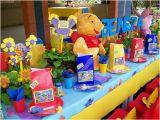 Winnie the Pooh 1st Birthday Decorations Winnie the Pooh Birthday theme First Birthday Party Ideas
