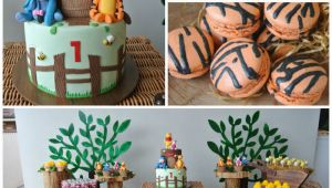 Winnie the Pooh 1st Birthday Party Decorations Kara 39 S Party Ideas Rustic Winnie the Pooh First Birthday