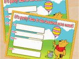 Winnie the Pooh Birthday Invitations Free Printable Free Printable Winnie the Pooh Birthday Invitation
