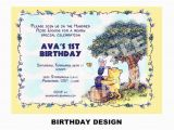 Winnie the Pooh Birthday Invitations Free Printable Items Similar to Winnie the Pooh Invitation Printable