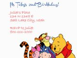 Winnie the Pooh Birthday Invitations Free Printable Winnie the Pooh and Friends Invitation Wedding