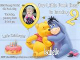 Winnie the Pooh Birthday Invitations Free Printable Winnie the Pooh Printable Invitation Personalized Winnie the